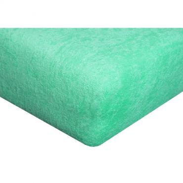 Froté prostěradlo pastelově zelené