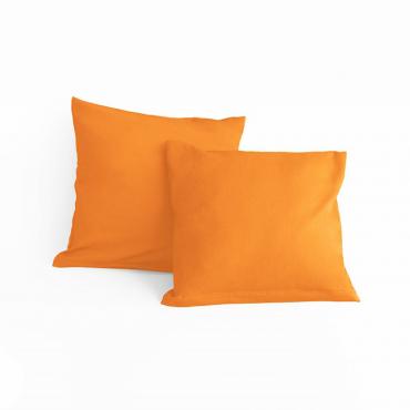 Bavlněný Povlak Oranžový 40x40cm