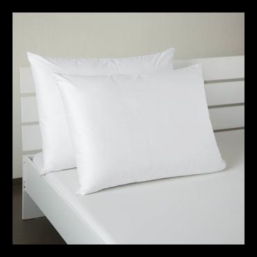 Saténový povlak bílý 50x50cm