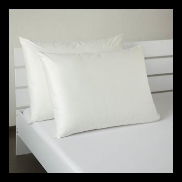 Saténový povlak krémově bílý 50x50cm